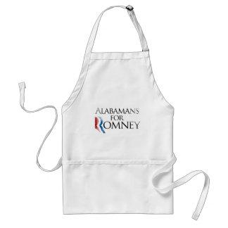 Vintage Alabamans for Romney -.png Adult Apron