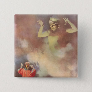 Vintage Aladdin and the Genie of the Lamp, Godwin Pinback Button
