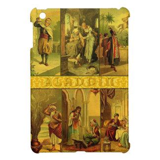 Vintage Aladdin Christmas Montage Cover For The iPad Mini