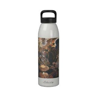 Vintage Aladdin y el cuento de hadas de la lámpara Botella De Agua