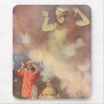 Vintage Aladdin y los genios de la lámpara, Godwin Tapete De Raton