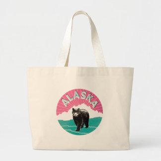 Vintage Alaska Canvas Bag