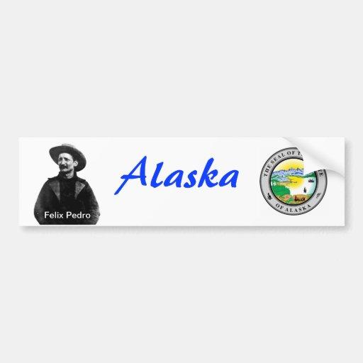 Vintage Alaska Bumper Stickers