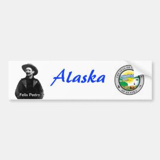 Vintage Alaska Pegatina De Parachoque