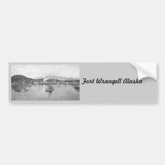 Vintage Alaska Pegatina Para Auto