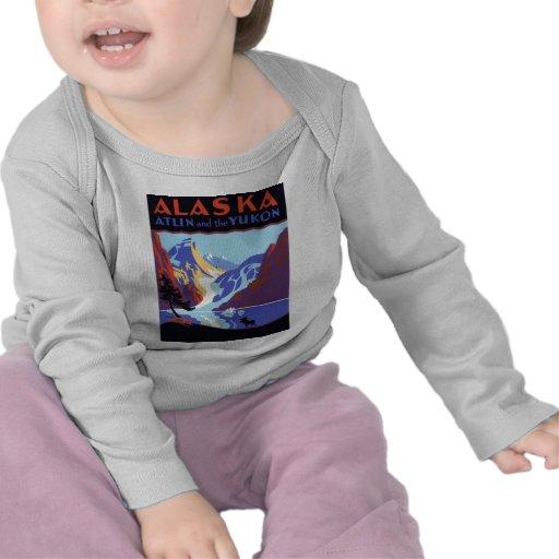 Vintage Alaska Camiseta