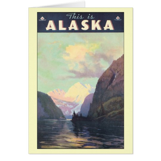 Vintage Alaska Card