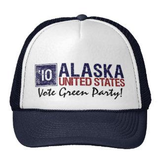 Vintage Alaska del Partido Verde del voto en 2010  Gorro