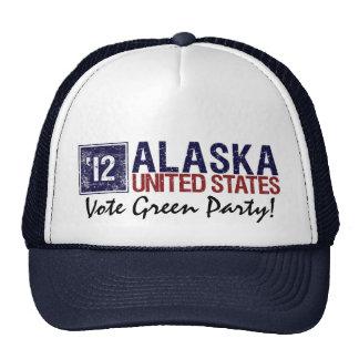 Vintage Alaska del Partido Verde del voto en 2012  Gorros