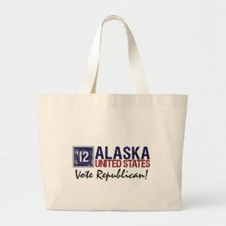 Vintage Alaska del republicano del voto en 2012 - Bolsas