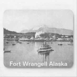 Vintage Alaska Mouse Pad