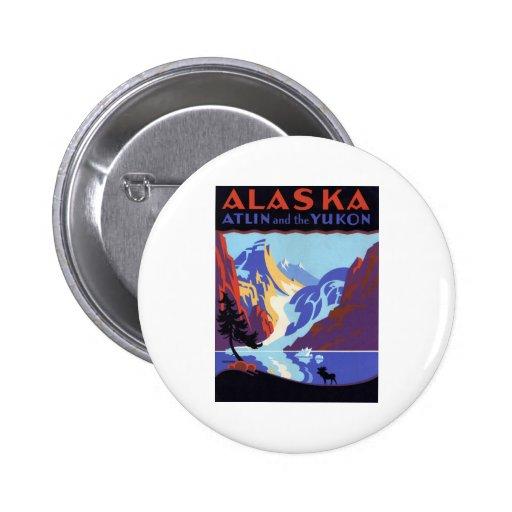 Vintage Alaska Pin