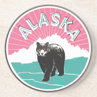 Vintage Alaska Posavasos Diseño