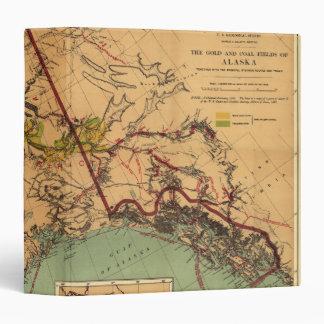 Vintage Alaskan Mining Map Binder