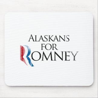 Vintage Alaskans for Romney -.png Mouse Pad
