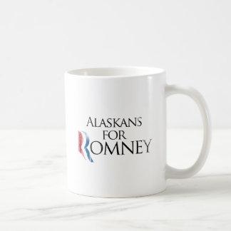 Vintage Alaskans for Romney -.png Classic White Coffee Mug