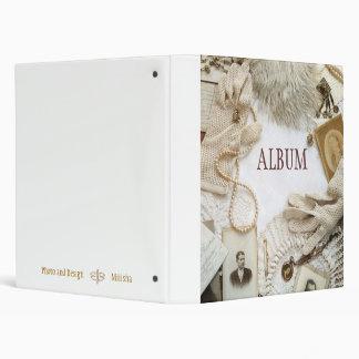 Vintage album 3 ring binder