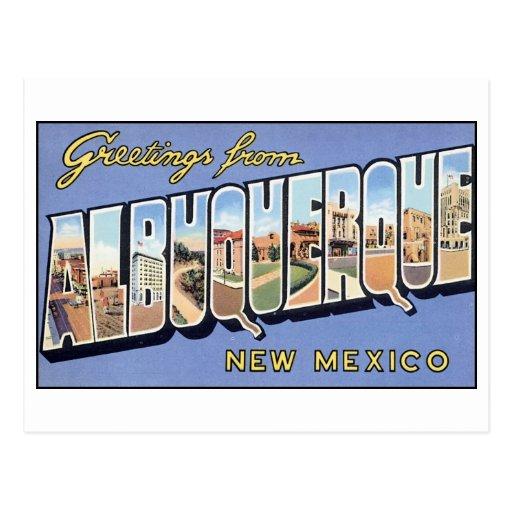 Vintage Albuquerque Postcard