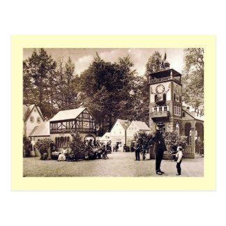 Vintage alemán de la escena, del policía y del tarjetas postales