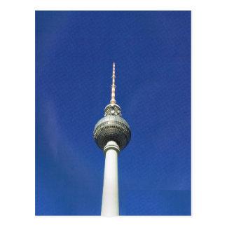 Vintage Alemania, Berlín, torre de la TV Postales