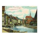 Vintage Alemania, Strassburg, poca Francia Postales