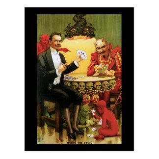 "Vintage Alexander Fredrik ""Beats the Devil"" Postcard"