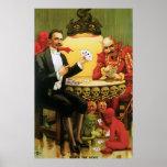 "Vintage Alexander Fredrik ""Beats the Devil"" Poster"