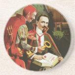 Vintage Alexander Fredrik Magic Poster Coasters