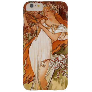 Vintage Alfonso Mucha Iphone 6 más Funda Para iPhone 6 Plus Barely There