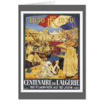 Vintage Algeria Centenaire Cards
