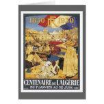 Vintage Algeria Centenaire Greeting Card
