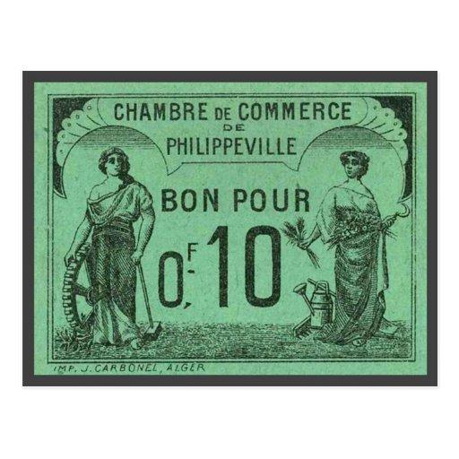 Vintage algeria chambre de commerce philippeville for Chambre de commerce caraquet