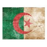 Vintage Algeria Flag Post Card