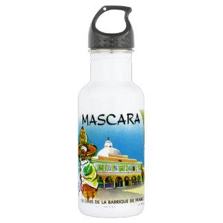 Vintage Algerian Wine label,  Mascara 18oz Water Bottle