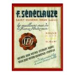 Vintage Algerian Wine, Oran Postcard