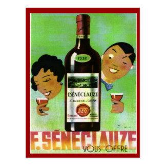 Vintage Algerian Wine Seneclauze Postcards