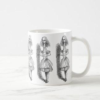 Vintage Alice Adventures in Wonderland by Tenniel Coffee Mug