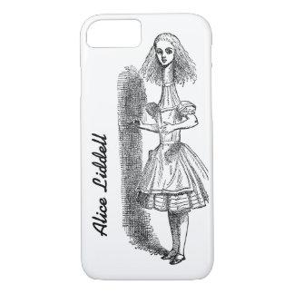Vintage Alice Adventures in Wonderland by Tenniel iPhone 8/7 Case