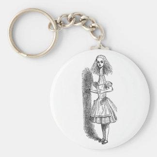 Vintage Alice Adventures in Wonderland by Tenniel Keychain