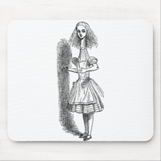 Vintage Alice Adventures in Wonderland by Tenniel Mouse Pad
