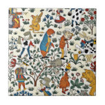 Vintage Alice and Friends Pattern Ceramic Tiles