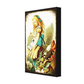 Vintage Alice And The Animals Canvas Print