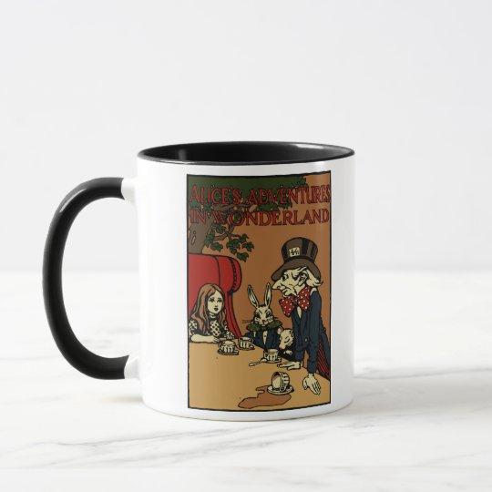 Vintage Alice Cover Mad Tea Party Mug