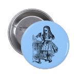 Vintage Alice Drink Me Pinback Button