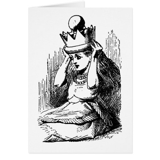 Vintage Alice in Wonderland; Alice as the Queen Cards