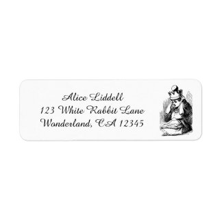 Vintage Alice in Wonderland, Alice as the Queen Label