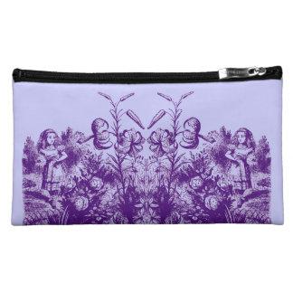 Vintage Alice in Wonderland Cosmetic Bag