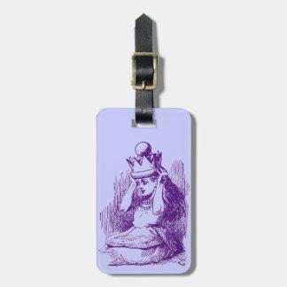 Vintage Alice in Wonderland Bag Tag