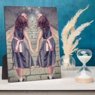 vintage Alice in wonderland Bridal shower Plaques