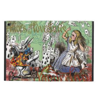 Vintage Alice in Wonderland Cards Tea party Powis iPad Air 2 Case